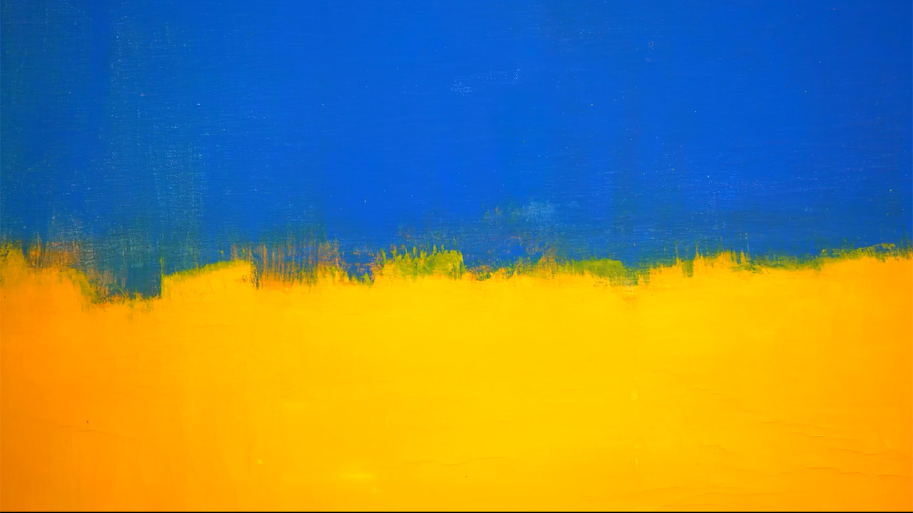 Mark Rothko Unled Yellow And Blue 1954 Contemporary Art Sotheby S