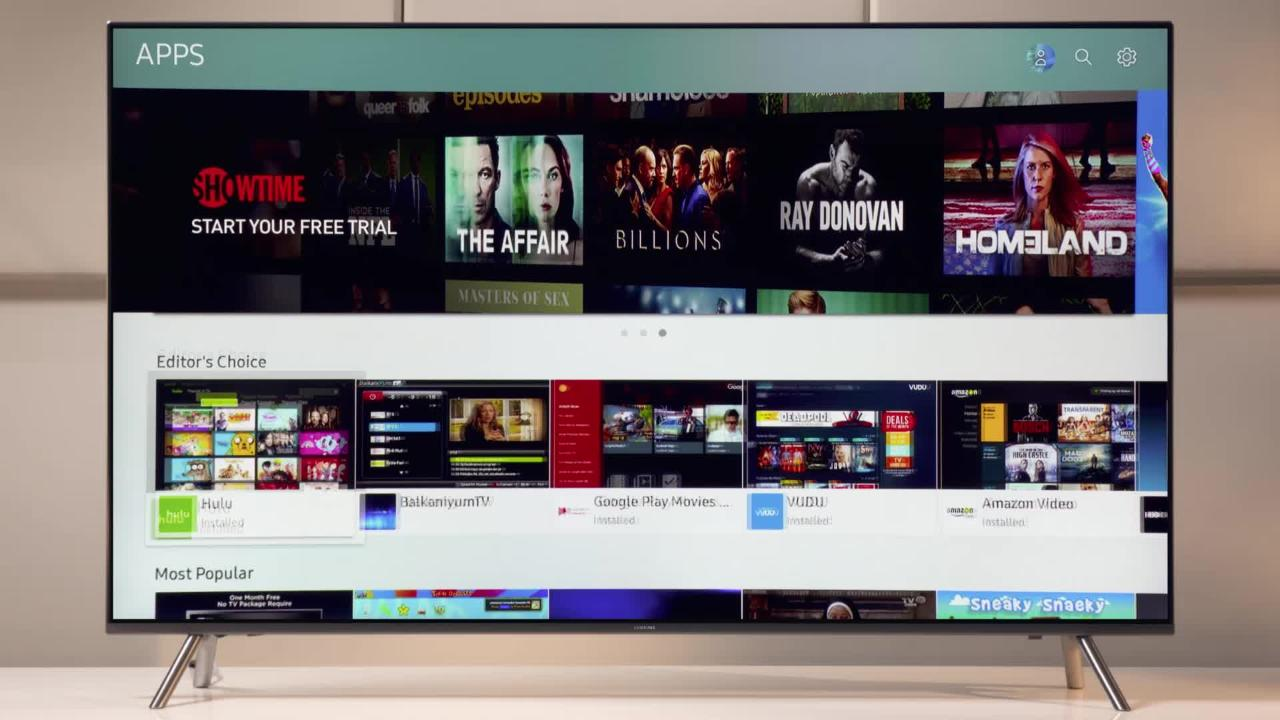 How To Install Apps from Smart Hub On Your 2017 4K UHD TV