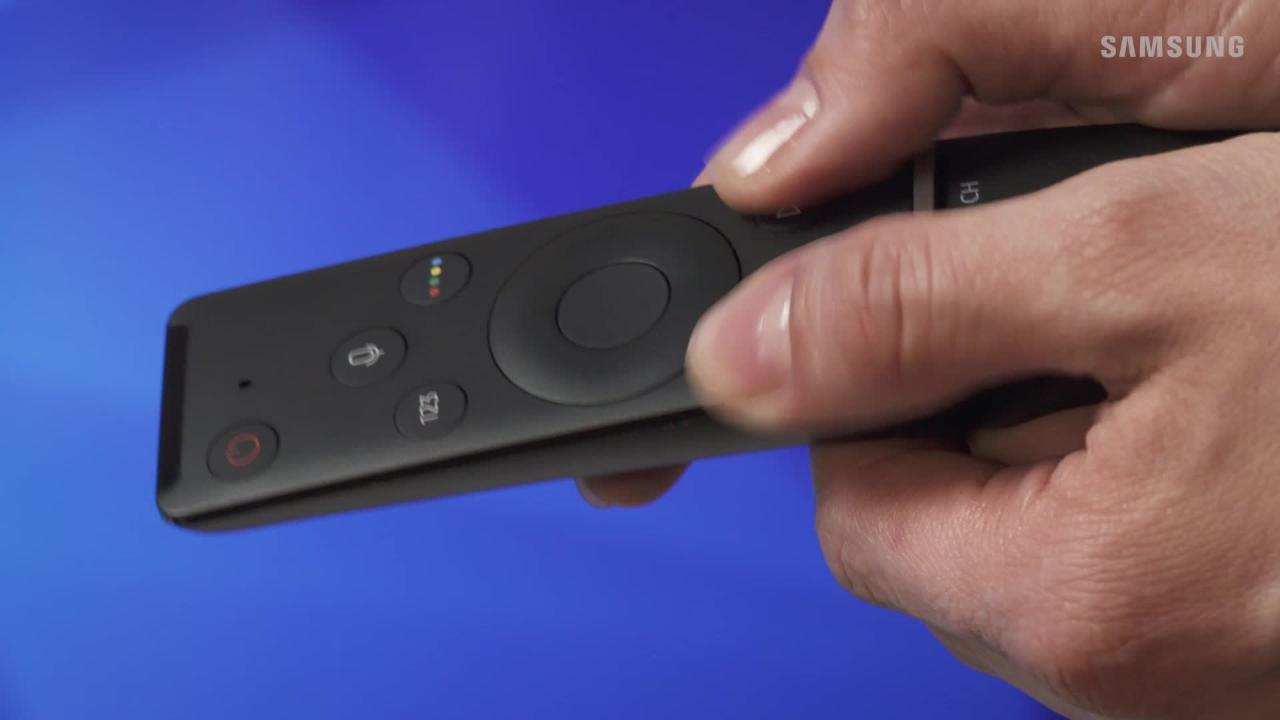 How To Properly Pair The Smart Remote To Your 2017 4K UHD TV