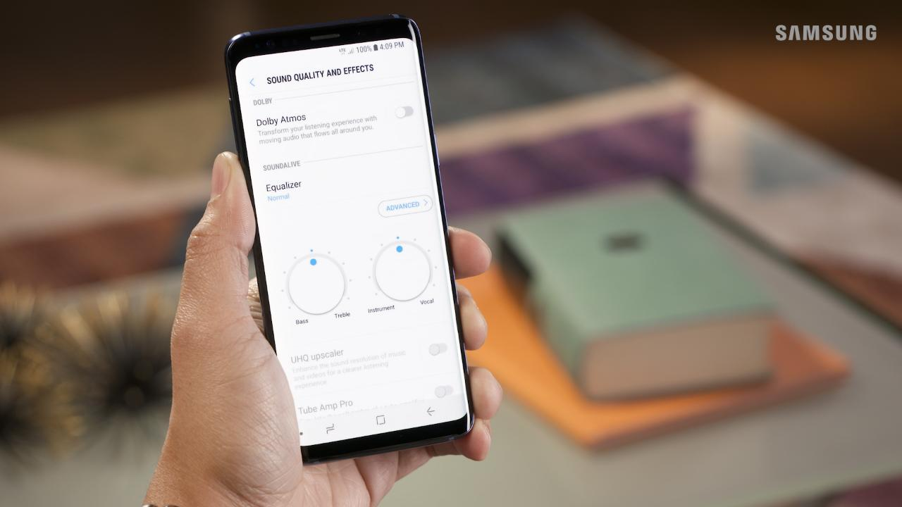 Play Stereo Sound with Dolby Atmos on Your Galaxy S9|S9+