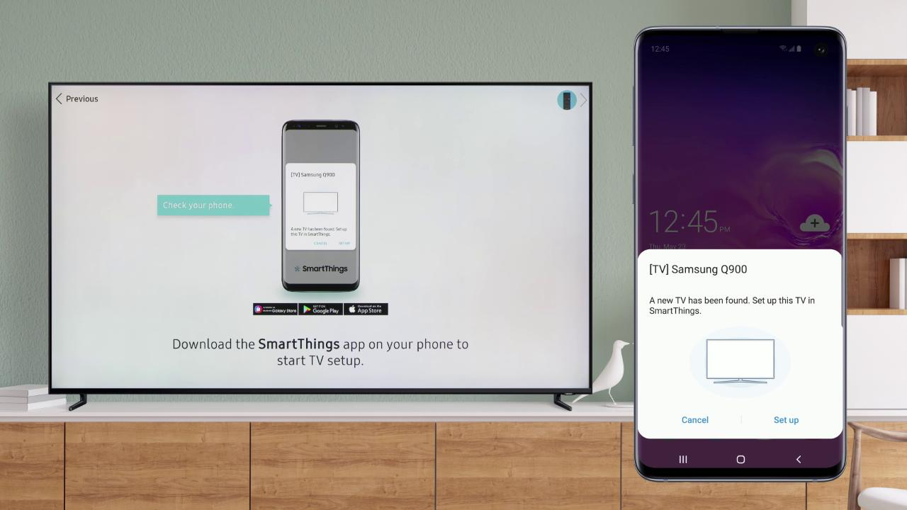 2019 Out of Box Onscreen TV Setup Using Your Mobile Device