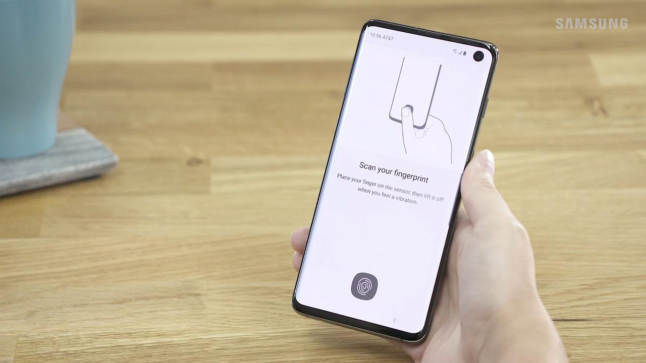 Improve fingerprint accuracy on your Galaxy S10
