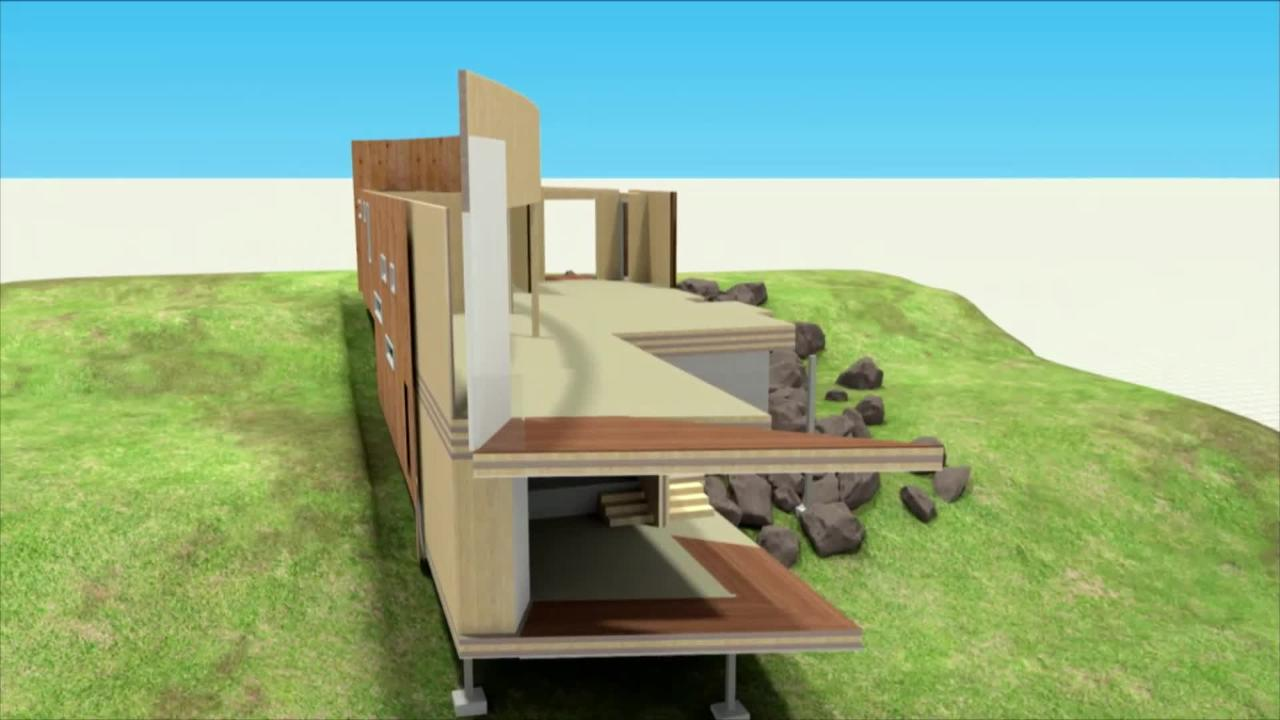 Flatpack House Maianbar Flat Pack House Supplier List Lifestyle Channel