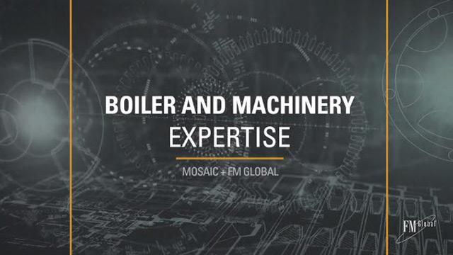 Boiler and Machinery Expertise: Mosaic and FM Global