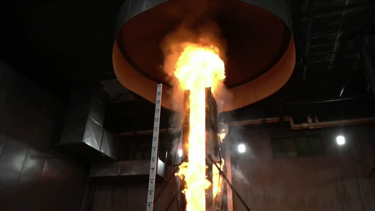Discovery Channel profiles FM Global Fire Research on High-Rise Exterior Claddings