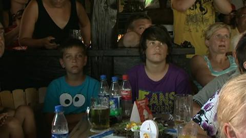 Public Viewing am Humboldtsee