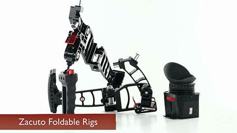 Zacuto Marauder Foldable Camera Rig Z Dmr B Amp H Photo Video