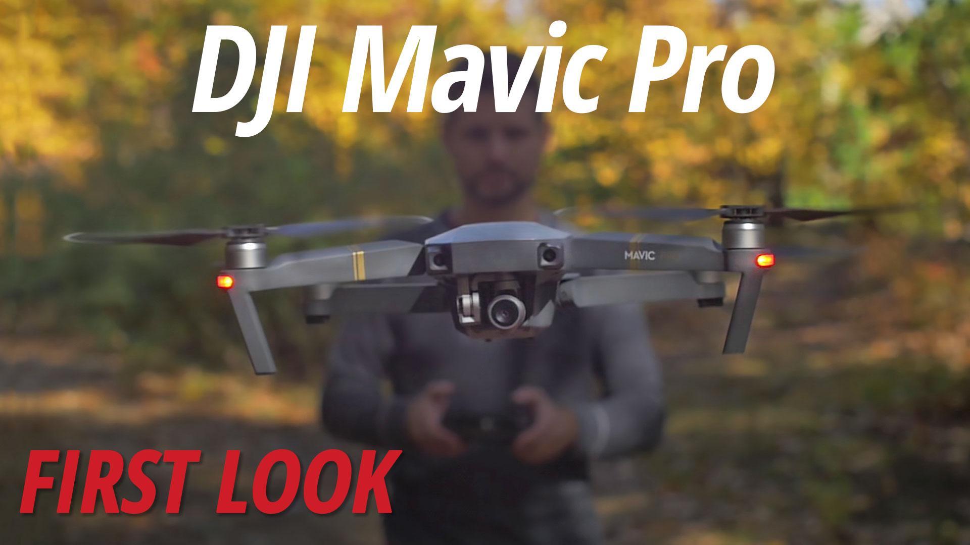 DJI Mavic Pro (Fly More Combo) CP.PT.000642 B\u0026H Photo Video