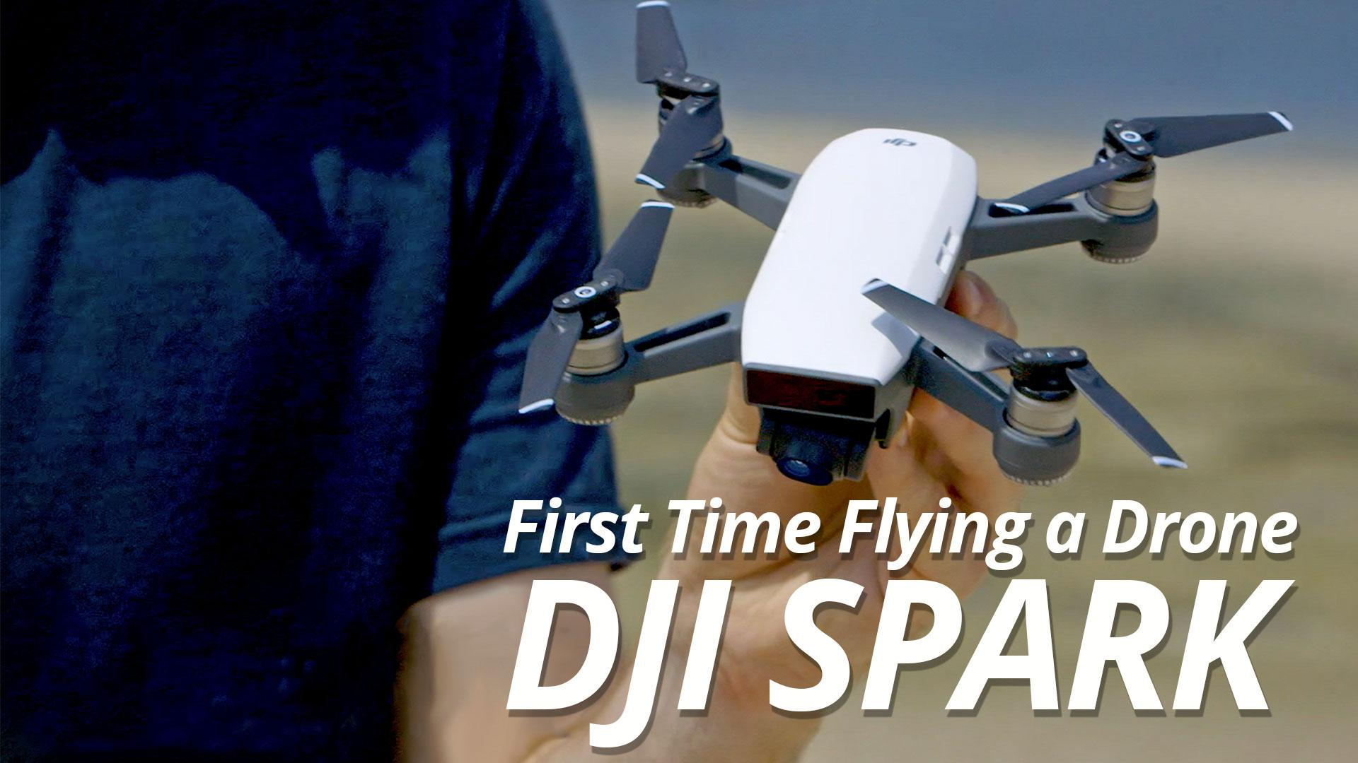 DJI Spark Quadcopter (Alpine White)