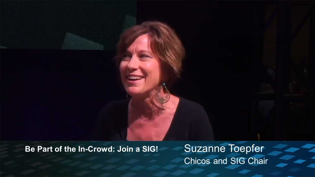 JDA TV - Be Part of the In-Crowd: Join a SIG! - Suzanne Toepfer, Chicos and Special Interest Group President