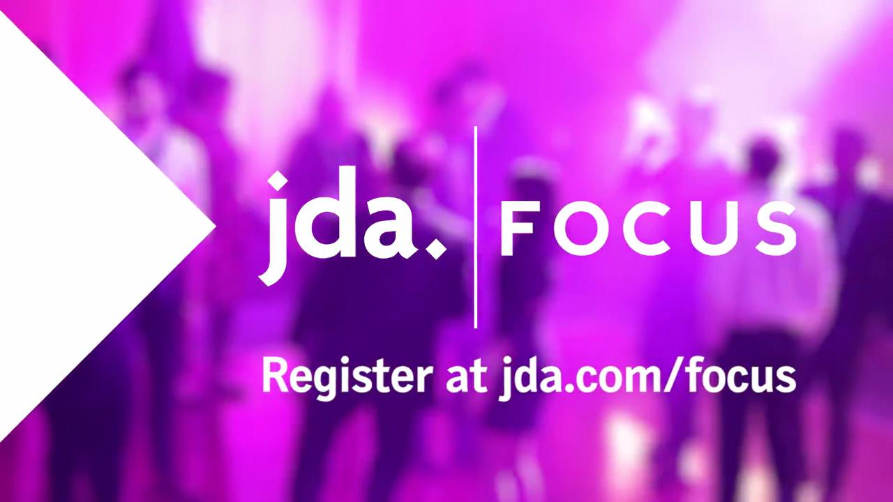 Leader in supply chain and retail solutions jda software focus on the future check out why you need to attend fandeluxe Choice Image