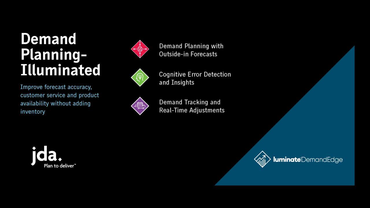 Luminate Demand Edge | JDA Software