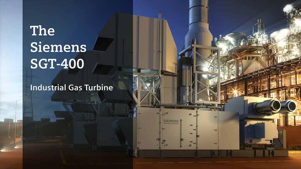 SGT-400 | Industrial Gas Turbine | Siemens Global Website | Gas