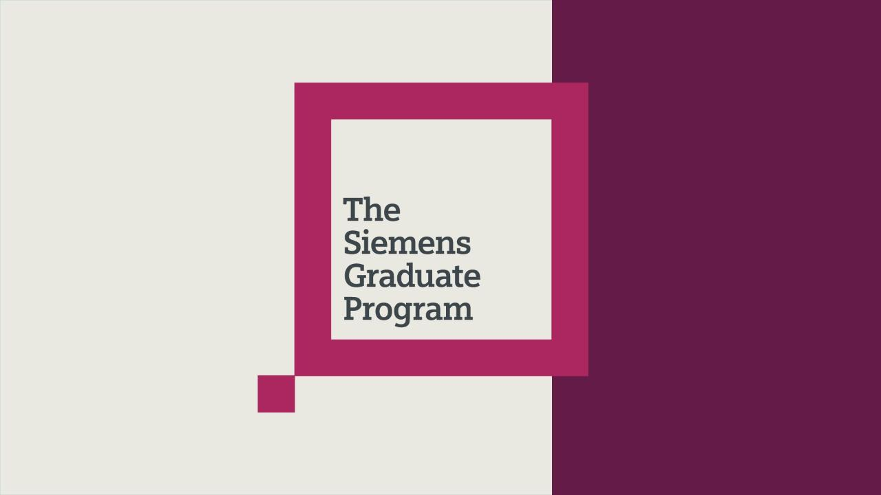 The Siemens Graduate Program | Careers at Siemens | Siemens Jobs