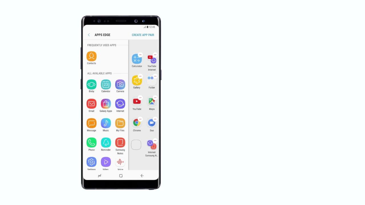 Galaxy Note 8: How to use App Pair | Samsung Support Australia