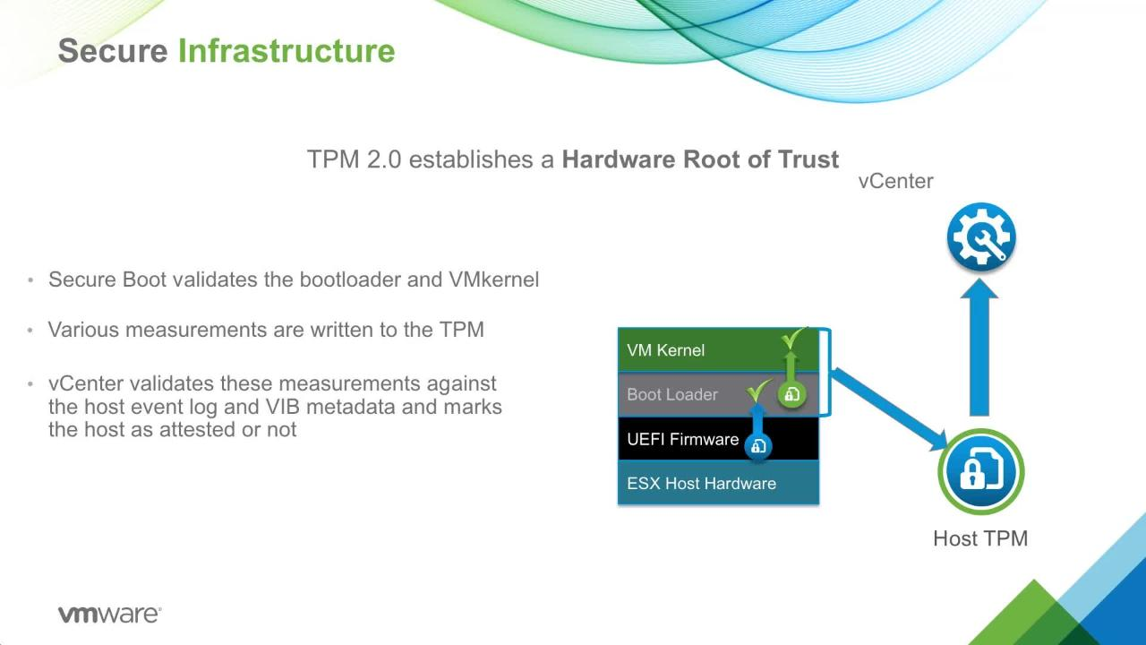 Securing ESXi Hosts with Trusted Platform Module