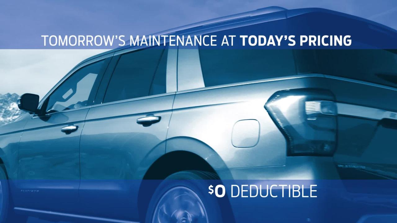 What Are Ford® Protect Extended Service & Maintenance Plans? | Official Ford  Owner Site