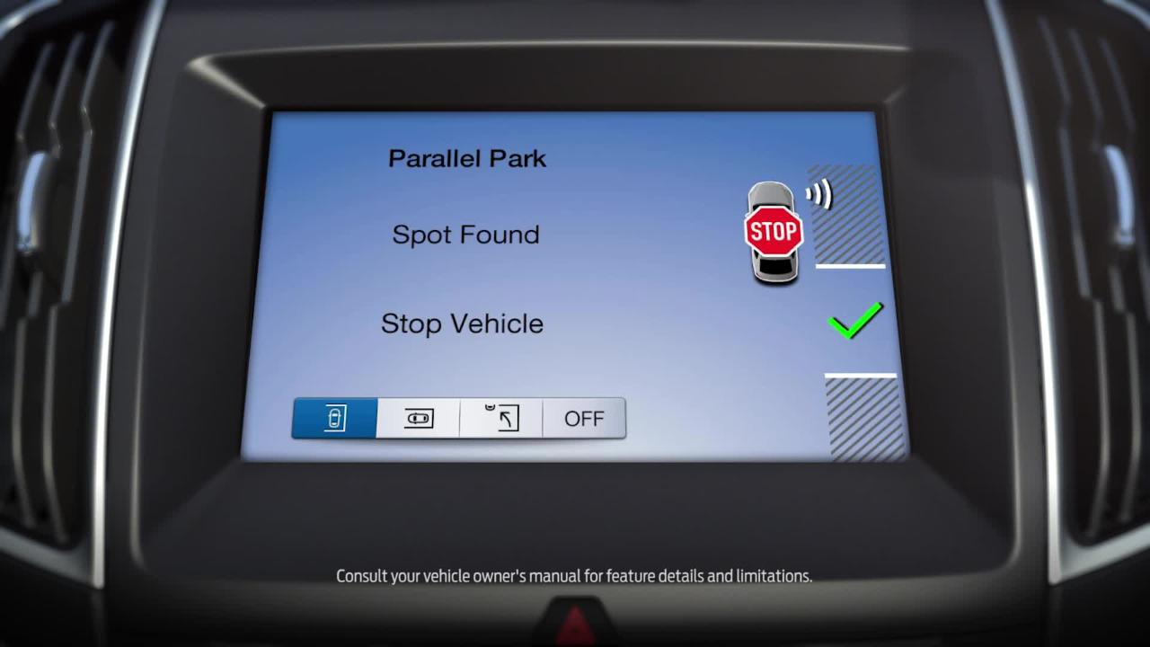 Enhanced Active Park Assist with side sensing system | How
