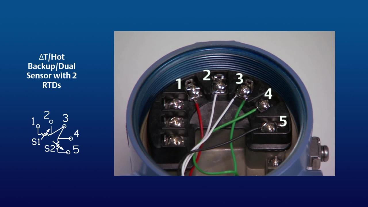 Rosemount 3144p Wiring Diagram Schematics And Diagrams 3051s How To Set Up A Dual Sensor For The Temperature