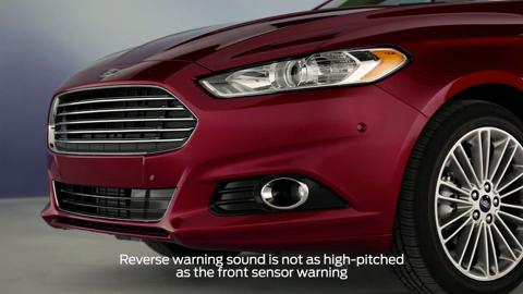 Reverse sensing system | How-to Video | Official Ford Owner Site