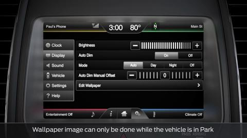 Adjusting SYNC settings   SYNC   Official Ford Owner Site