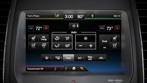 Setting and adjusting climate controls | SYNC | Official Ford Owner Site