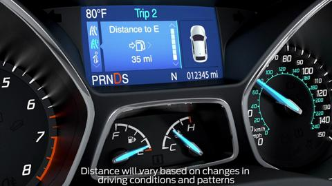 Distance to empty | Vehicle Features Video | Official Ford