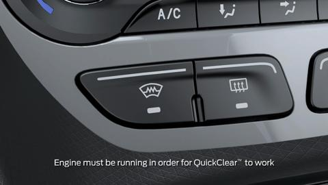Quickclear Electric Windshield Defroster Vehicle Features Video Official Ford Owner Site