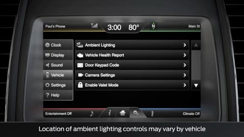 SYNC with MyFord Touch Changing Ambient Lighting | SYNC Video | Official Ford Owner Site  sc 1 st  Ford Owner & SYNC with MyFord Touch: Changing Ambient Lighting | SYNC Video ... azcodes.com
