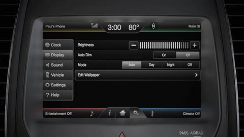 Ford Sync Reset >> Changing Display Settings Sync Video Official Ford Owner