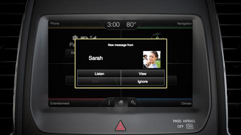 ford sync read text messages iphone 7 Plus