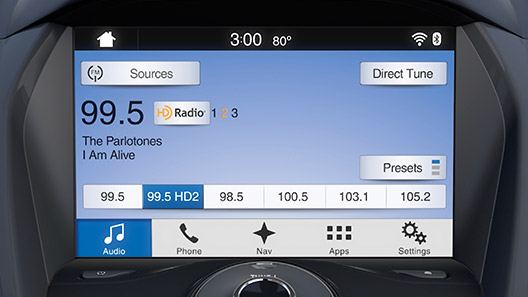 how to control your radio and cd player with sync 3 sync rh owner ford com Ford Focus Sync by Microsoft 2015 Ford Focus