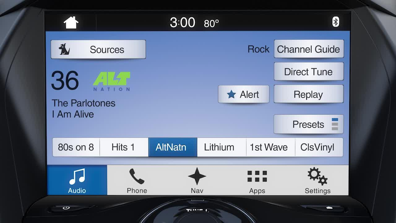 How to use SiriusXM® with SYNC® 3 | SYNC | Official Ford