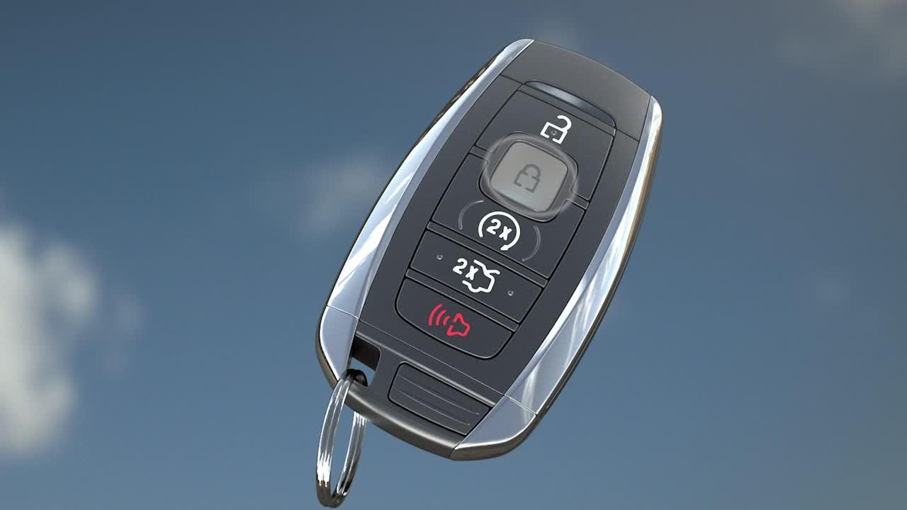 How To Use The Intelligent Access Key Fob