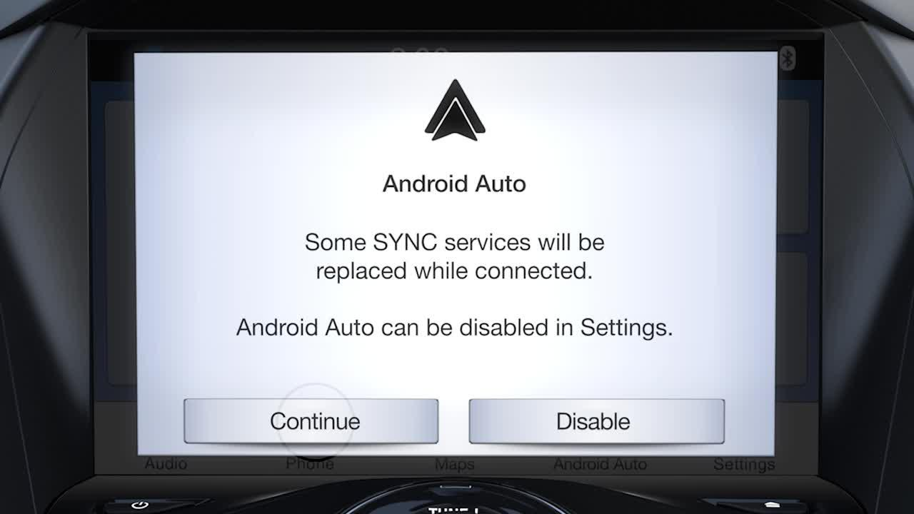 Sync 3 Plus Android Auto Ford How To Video