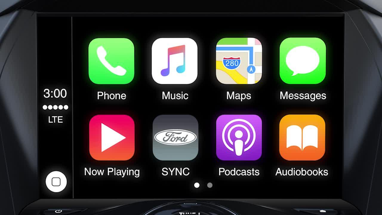 sync 3 plus apple carplay support ford how to video