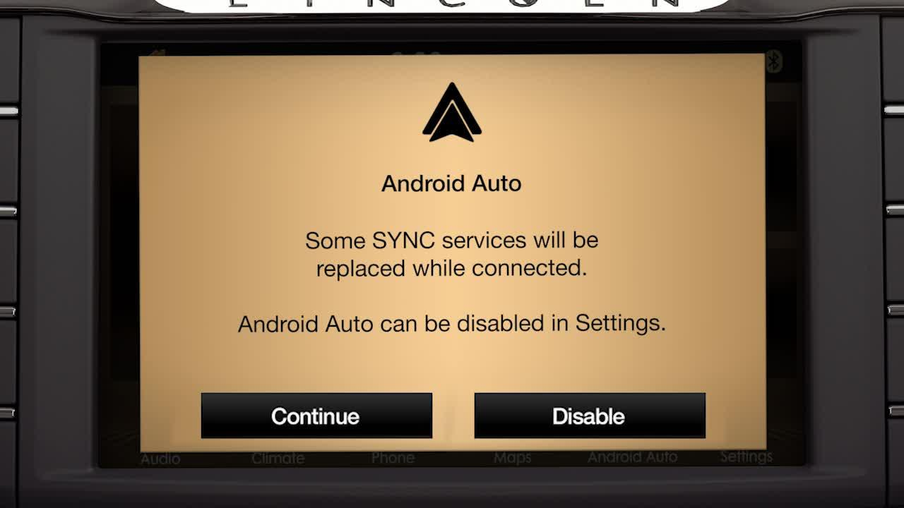 SYNC® 3 plus Android Auto™ | Lincoln How-to Video| Official Lincoln