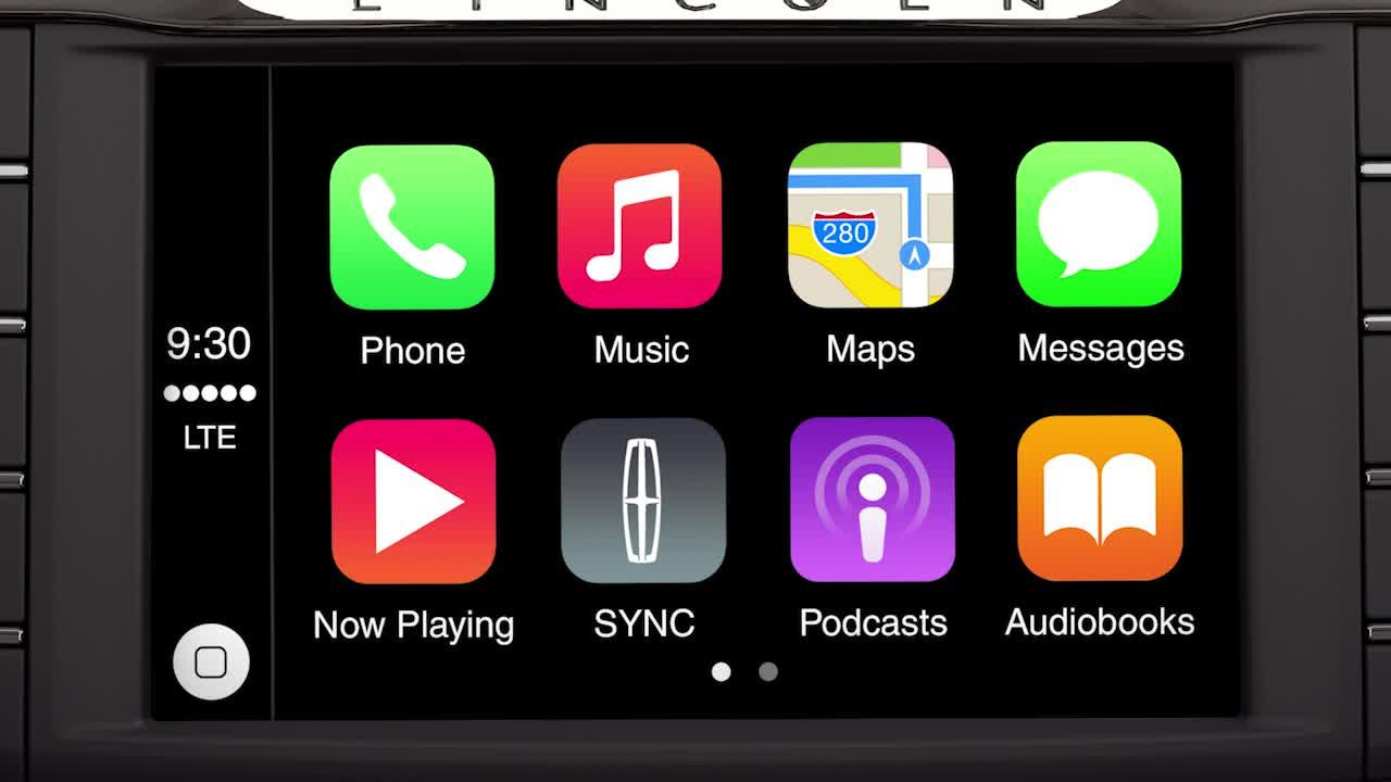 Sync 3 plus apple carplay support lincoln how to video biocorpaavc Choice Image