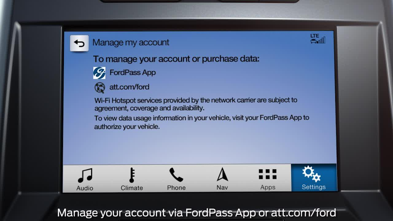 FordPassTM Connect with Wi-Fi Hotspot overview | How-To
