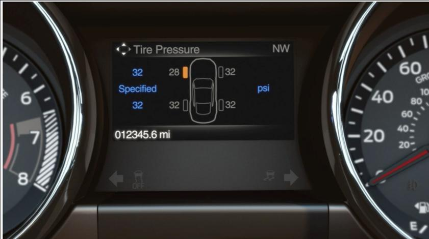 Tire Pressure Monitoring System with Individual Tire