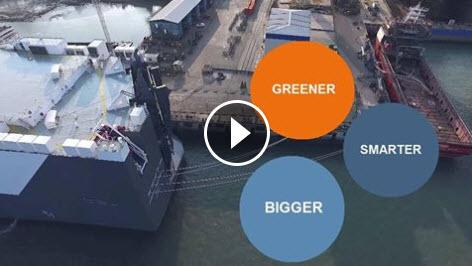 New Horizon vessel – Bigger, Greener and Smarter, Video