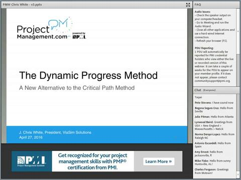 Projectmanagement.Com - The Dynamic Progress Method: A New