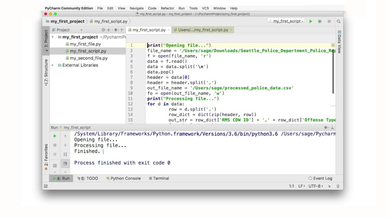 Module 4: Writing Scripts in Python - SAGE Research Methods