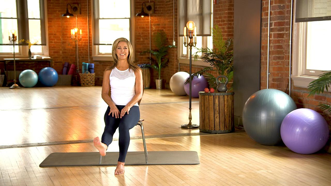 Very valuable denise austin feet toes