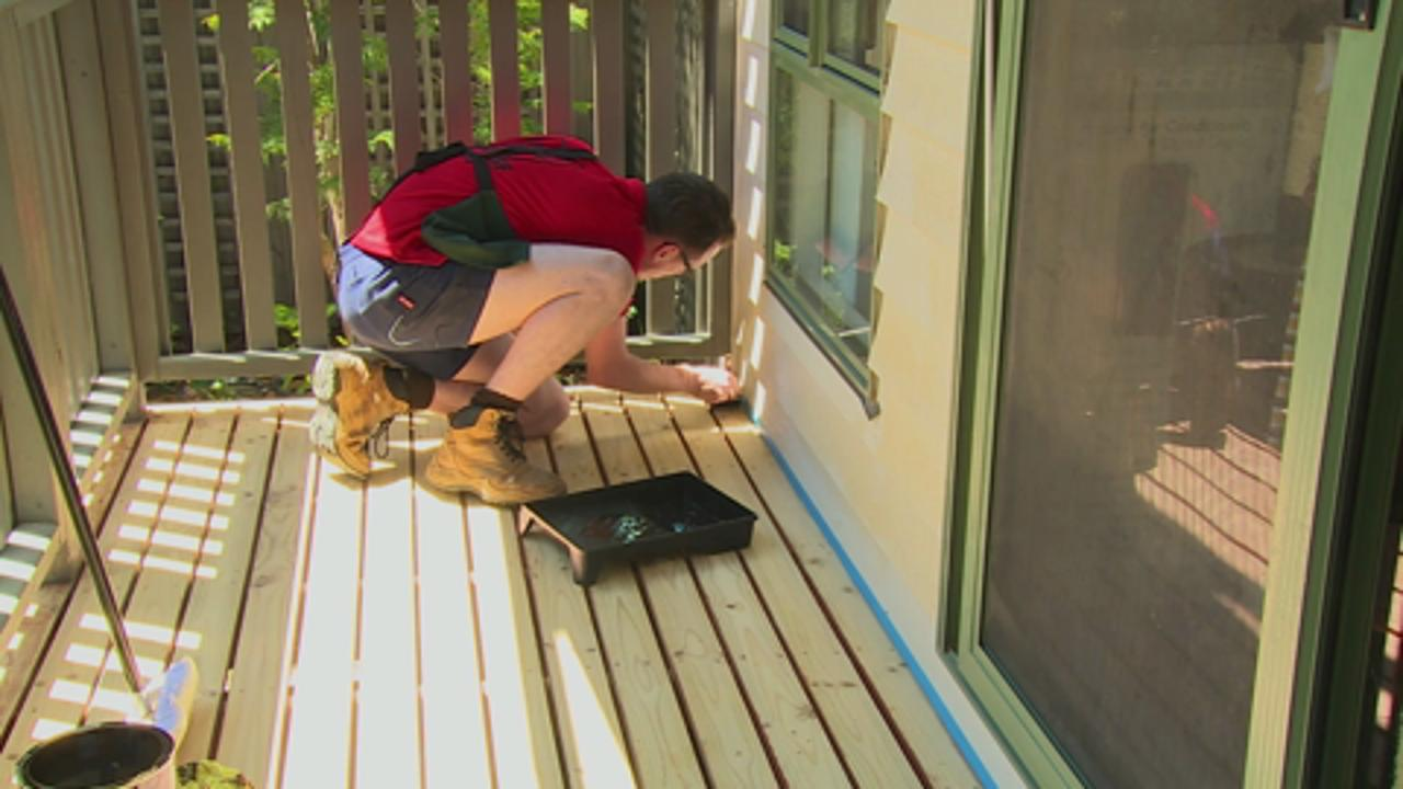 How To Stain A Deck Bunnings Warehouse