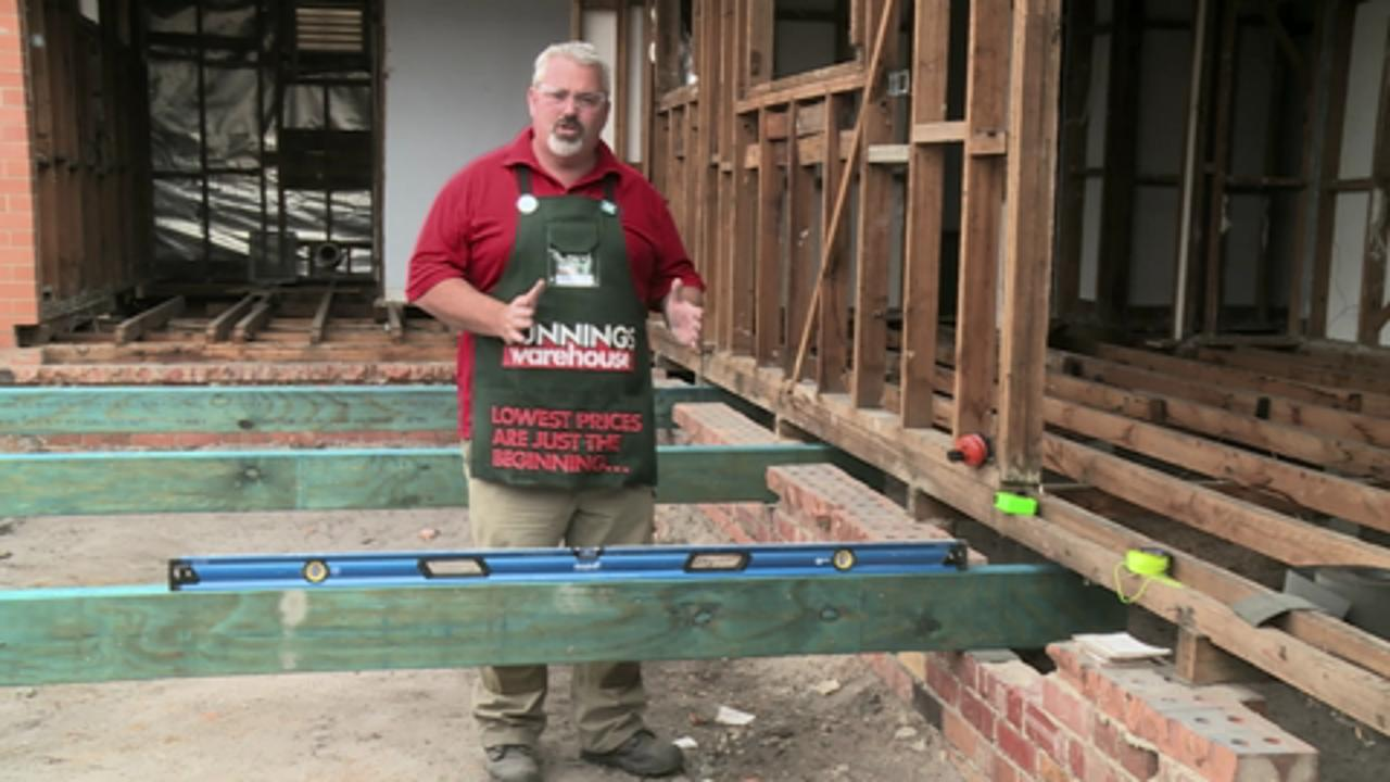 How To Install A Subfloor | Video | Bunnings Warehouse