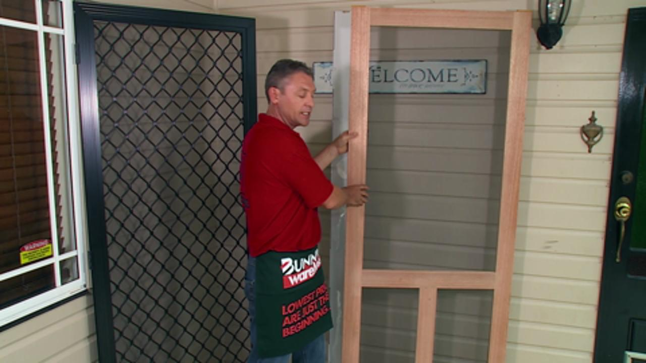 How To Choose A Screen Door For Your Beach House Bunnings Warehouse