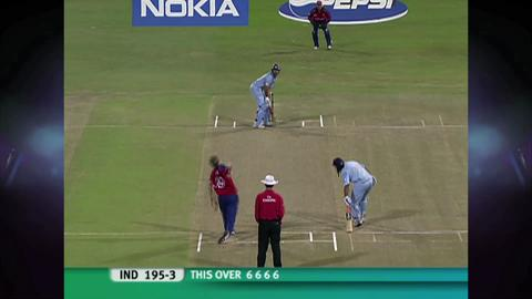 On this day: yuvraj singh hit six sixes in an over in 2007 icc.