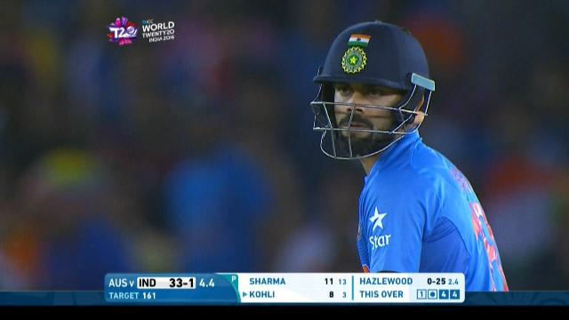 Virat Kohli Innings For India V Australia Video Icc Wt20 2016