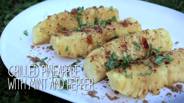 Ep 10 - Grilled Pineapple with Mint and Pepper | Simply Special with Sarah Benjamin | Asian Food Cha